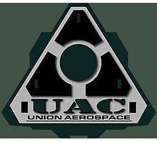 UAC Mint Green Logo Photographic Print