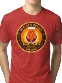 Anaphylaxis - Manuka Smoked Black IPA w/ chipotle Tri-blend T-Shirt