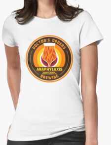 Anaphylaxis - Manuka Smoked Black IPA w/ chipotle Womens Fitted T-Shirt