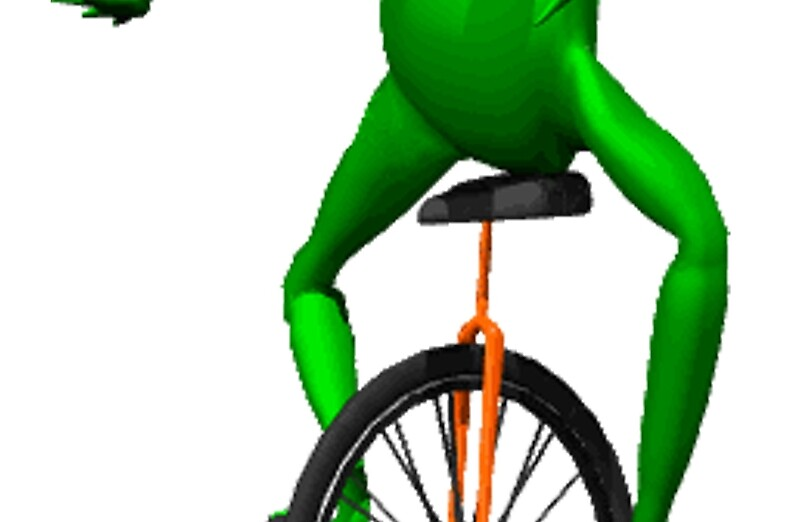 """""""dat boi meme / unicycle frog """" Laptop Sleeves by ..."""