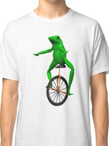 dat boi meme / unicycle frog  Classic T-Shirt