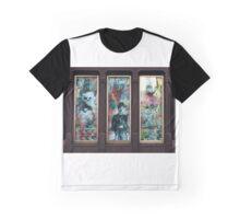 Window Pane Graphic T-Shirt