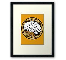 Brain!!! Framed Print