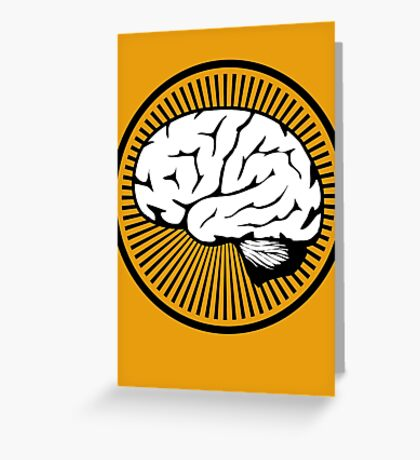 Brain!!! Greeting Card