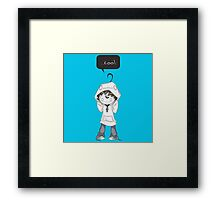 Cry Sup Framed Print