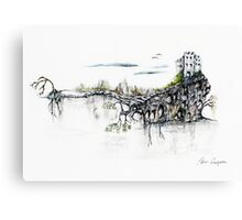 Castle Get Away Canvas Print