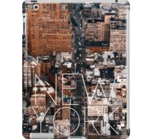 NEW YORK VII iPad Case/Skin