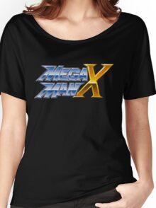 Megaman X logotype Women's Relaxed Fit T-Shirt