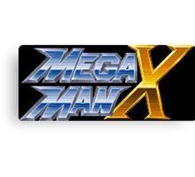 Megaman X logotype Canvas Print
