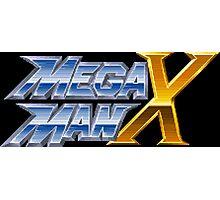 Megaman X logotype Photographic Print