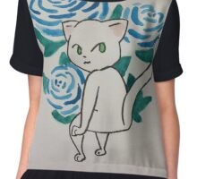 Pretty Kitty Chiffon Top