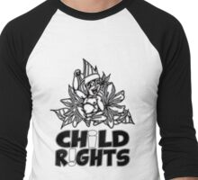 Trae Isaac - Fight for Child Rights Men's Baseball ¾ T-Shirt