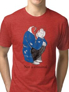 Mosher - Stop Criminalization of the Homeless (2) Tri-blend T-Shirt