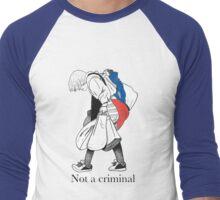 Mosher - Stop Criminalization of the Homeless (1) Men's Baseball ¾ T-Shirt