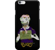 Sewer Zombie 2 iPhone Case/Skin