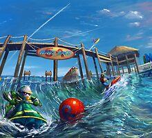 Wave Race: Banzai!  by FirebornForm