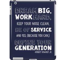 Define Your Generation 2 iPad Case/Skin