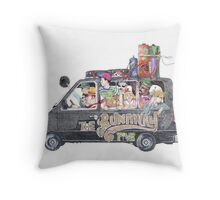 Runaway Five - Earthbound Throw Pillow