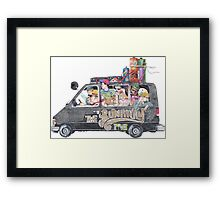 Runaway Five - Earthbound Framed Print