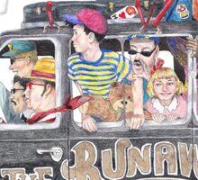 Runaway Five - Earthbound Sticker