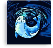 Seal Cub Canvas Print