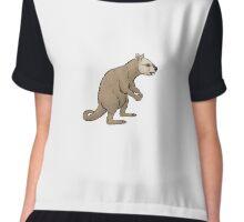 Ekaltadeta ima, a carnivorous kangaroo Chiffon Top
