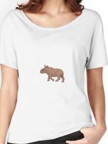A baby Elasmotherium Women's Relaxed Fit T-Shirt