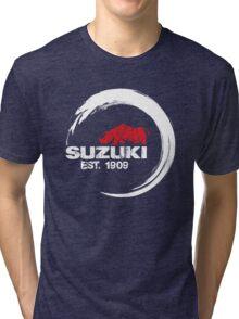 Suzuki Rhino Est. 1909 Tri-blend T-Shirt