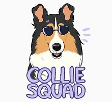 COLLIE SQUAD (rough + black) Unisex T-Shirt