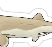 The freaky fish Falcatus falcatus Sticker