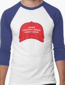 Make Country Music Great Again Men's Baseball ¾ T-Shirt