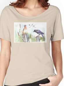 Coco and a bulbul Women's Relaxed Fit T-Shirt