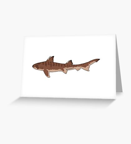 Hybodus, a shark from the age of dinosaurs Greeting Card