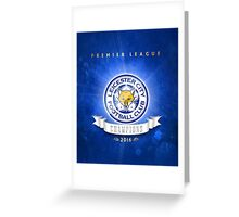Leicester champions Greeting Card