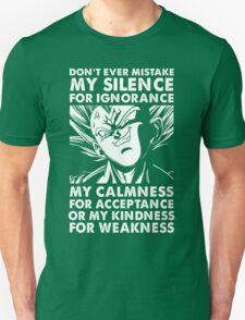 Vegeta Dragon Ball Z T-Shirt