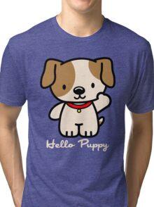 Hello Puppy Tri-blend T-Shirt