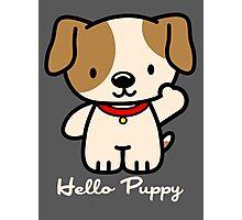 Hello Puppy Photographic Print