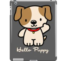Hello Puppy iPad Case/Skin