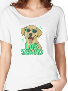YELLOW LAB SQUAD Women's Relaxed Fit T-Shirt