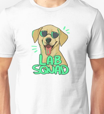 YELLOW LAB SQUAD Unisex T-Shirt