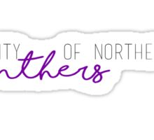 University of Northern Iowa Panthers Sticker
