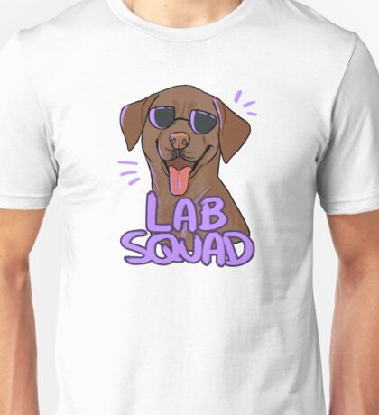 CHOCOLATE LAB SQUAD Unisex T-Shirt