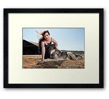 A Woman's Best Friend II Framed Print