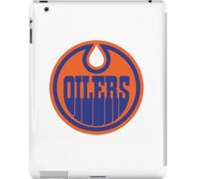 Edmonton Oilers nhl logo iPad Case/Skin