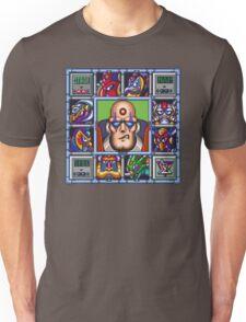 Megaman X bosses Unisex T-Shirt