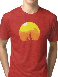 Rey on Jakku - Minimal  Tri-blend T-Shirt