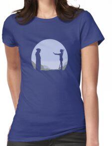 Meeting Luke - Minimal  Womens Fitted T-Shirt