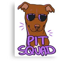 RED PIT SQUAD Canvas Print