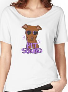 RED PIT SQUAD Women's Relaxed Fit T-Shirt