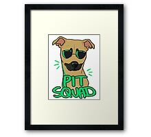 FAWN PIT SQUAD Framed Print